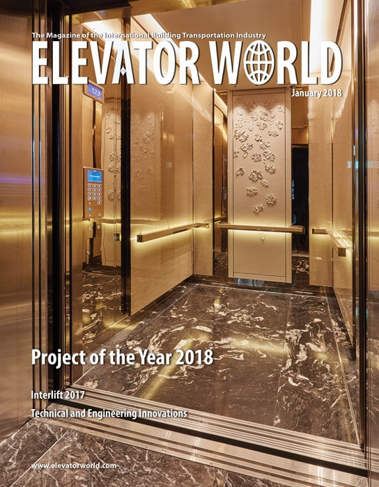 Elevator World | January 2018 Cover