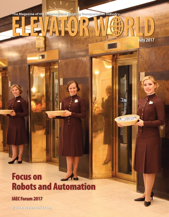 Elevator World | July 2017 Cover