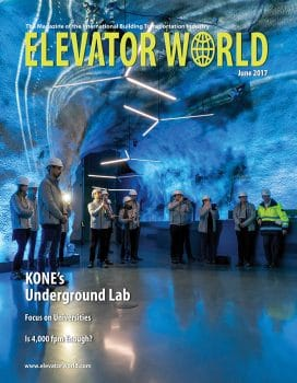 Elevator World | June 2017 Cover