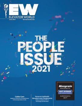 Elevator World | June 2021 Cover