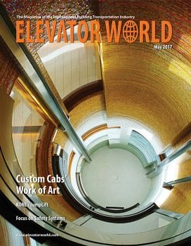 Elevator World | May 2017 Cover