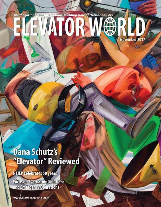 Elevator World | November 2017 Cover