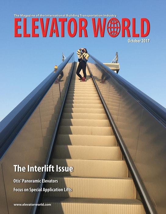 Elevator World | October 2017 Cover