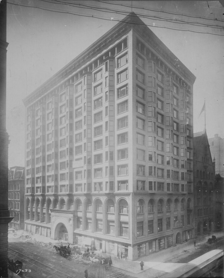 Historic Chicago Stock Exchange Elevator Enclosures