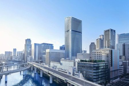 Hotel/Condo Tower Planned in Osaka