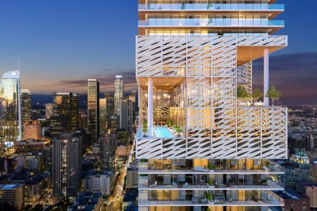 L.A. Planners OK 70-Story Apartment Tower for Downtown