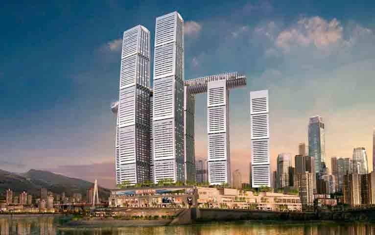 Mixed-use-development-generates-work-for-KONE-and-corporate-headquarters-take-shape-in-Chengdu