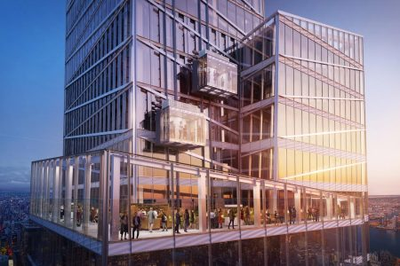 Observatory With Glass Elevator to Debut in Manhattan