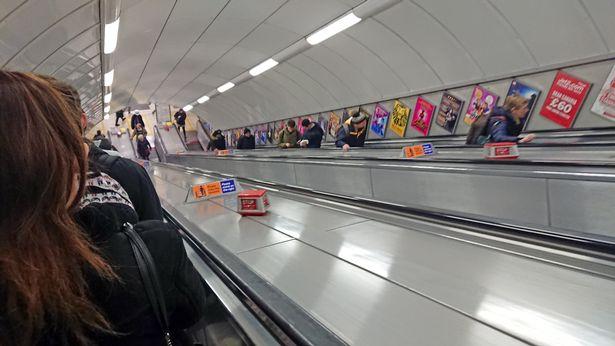 Pandemic Causes Change in London Underground Escalators