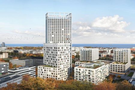 Polish High-Rise Design Determined by Competition