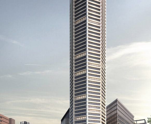 'World's First' Octagon-Shaped Residential Tower Approved