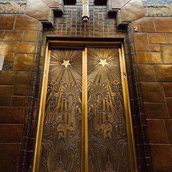 Art Deco on Hall Doors