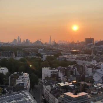 Apex Apprentice's Sunrise View Over London