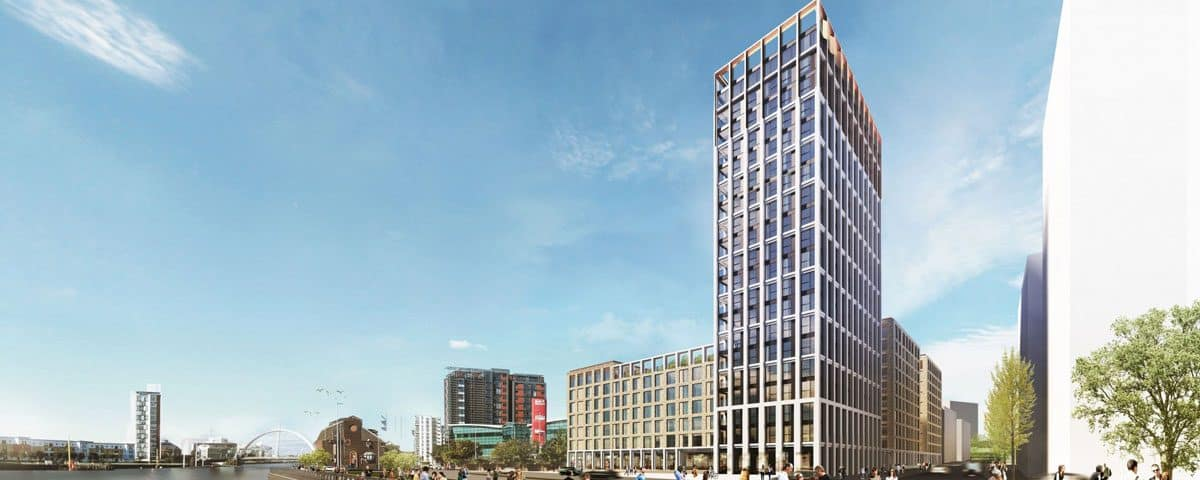Construction Contract Signed for Glasgow Build-to-Rent Tower