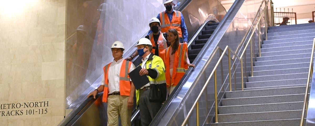 Cuomo Announces East Side Access Construction Milestone