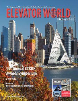 Elevator World | February 2017 Cover