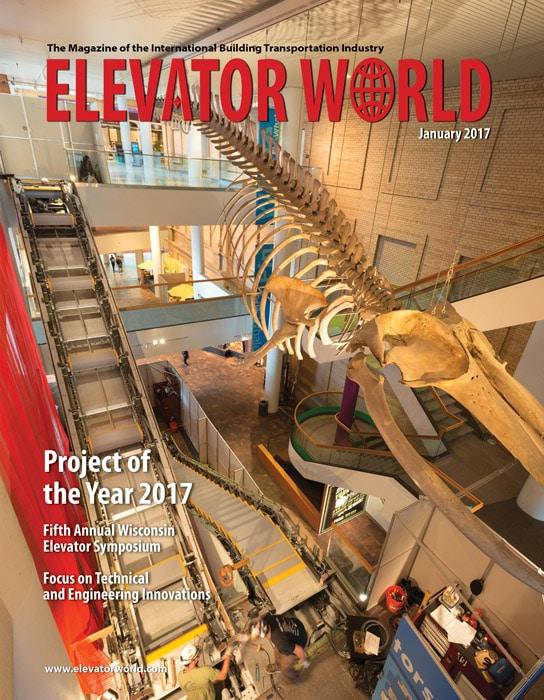 Elevator World | January 2017 Cover