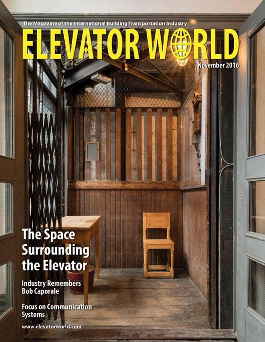 Elevator World | November 2016 Cover