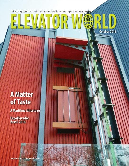 Elevator World | October 2016 Cover