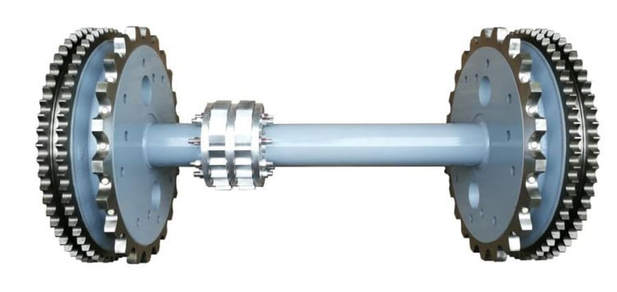 Escalator Handrail Mechanism