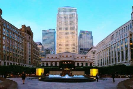 London's Canary Wharf Becoming More Residential