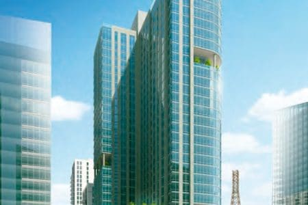 Mixed-Use-32-Story-Tower-Underway-Near-DC