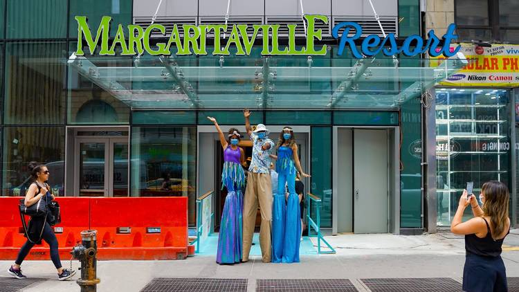 New Margaritaville Resort Opening In Times Square In July