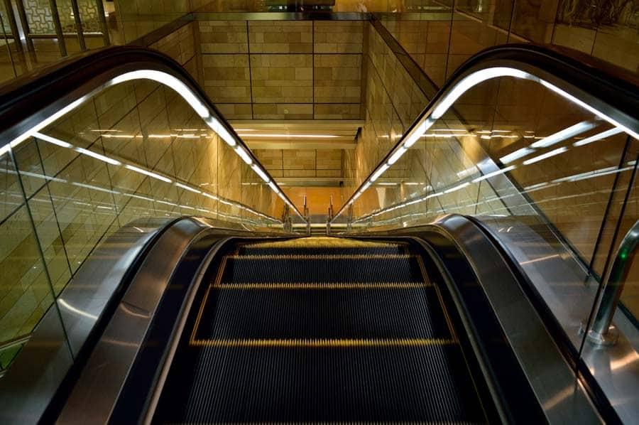 Photo Contest 2016 - escalators category