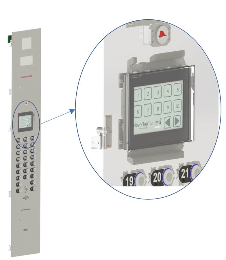 Touch-free Elevator control Technology for Public Health - 3
