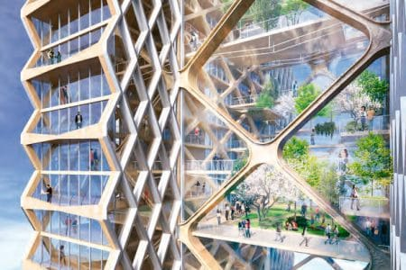 Worlds-Tallest-Timber-Tower-Planned-in-Chicago