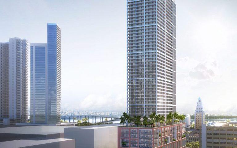 Approval Granted For Construction Crane Installation For Miami Skyscraper