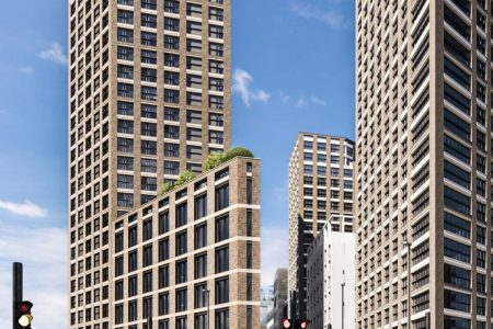 Contractor Selected for Mixed-Use Tower on London Fringe
