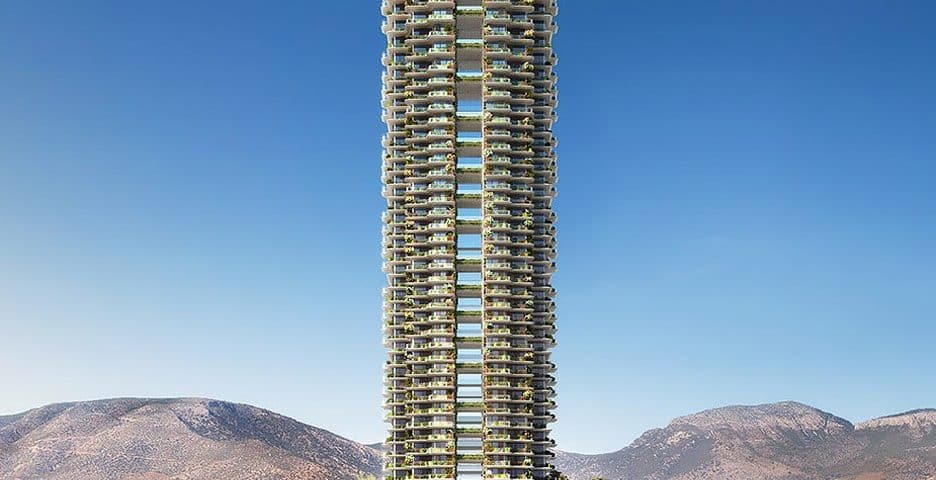 Designs for Greece's First Green High-Rise are Released