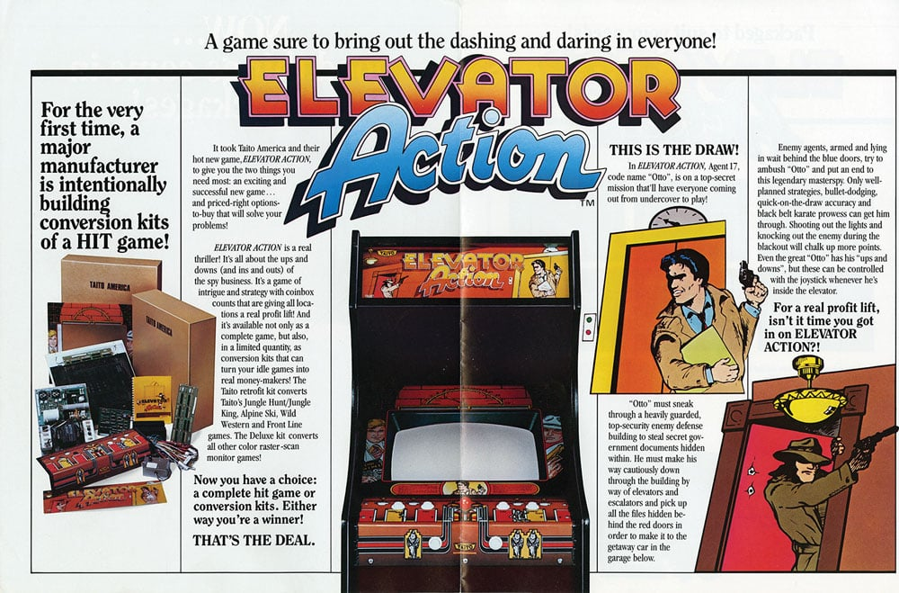 """Elevator Action""  Figure 1"