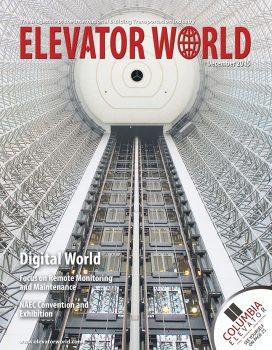 Elevator World | December 2015 Cover