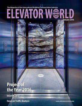Elevator World | January 2016 Cover