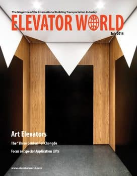 Elevator World | July 2016 Cover