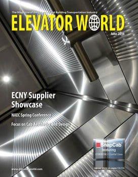 Elevator World | June 2016 Cover