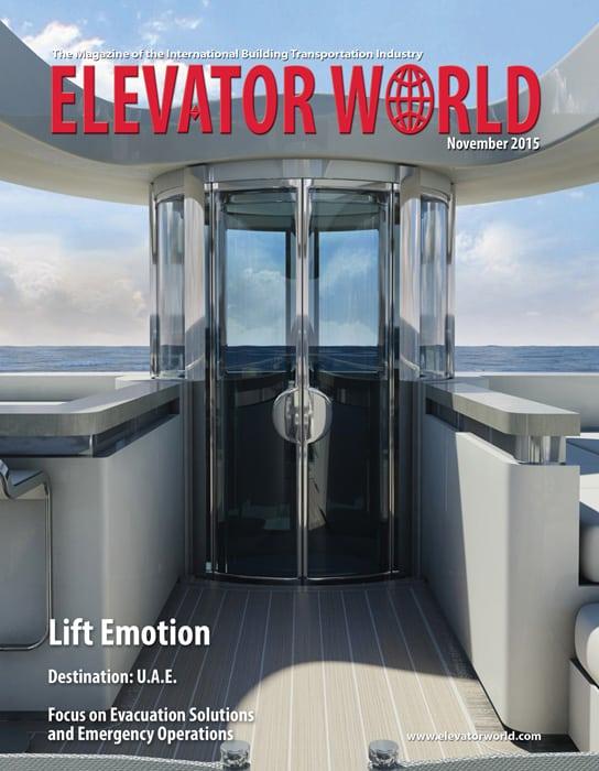 Elevator World | November 2015 Cover