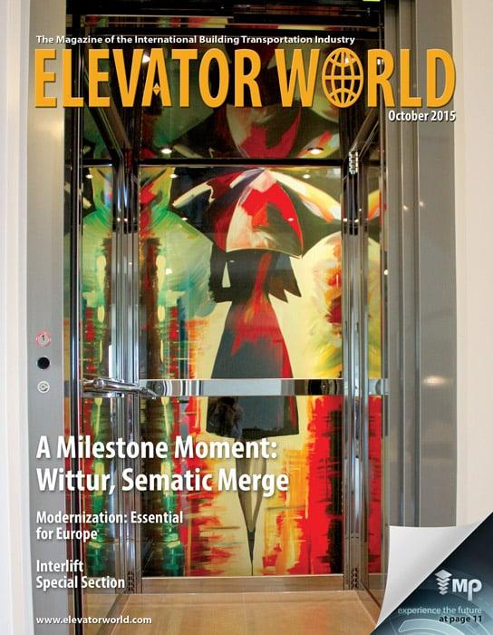 Elevator World | October 2015 Cover