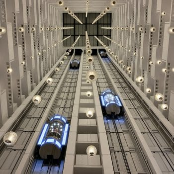 Sheraton Grand Nashville \ Futuristic Atrium