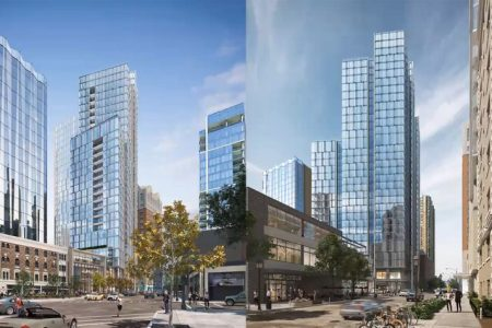 Renderings Revealed for Updated Mixed-Use Development In Chicago