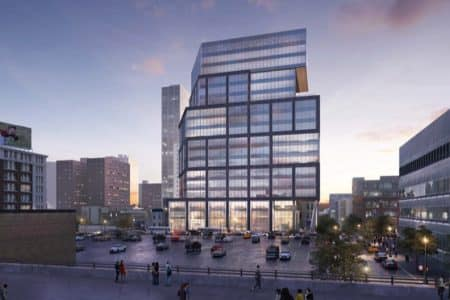 Steel Structure Of Philly Tower Reaches Second Floor