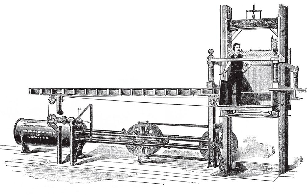 A-1902-Warner-Hydraulic-Elevator-Figure-2