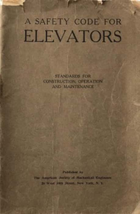 A Safety Code for Elevators