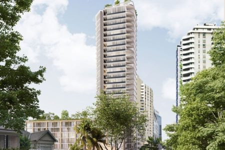 Apartment Tower Approved in North Sydney, Australia