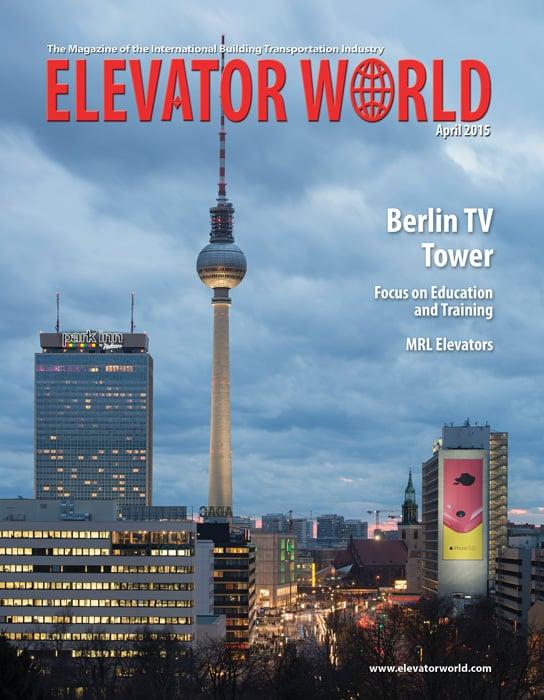 Elevator World | April 2015 Cover