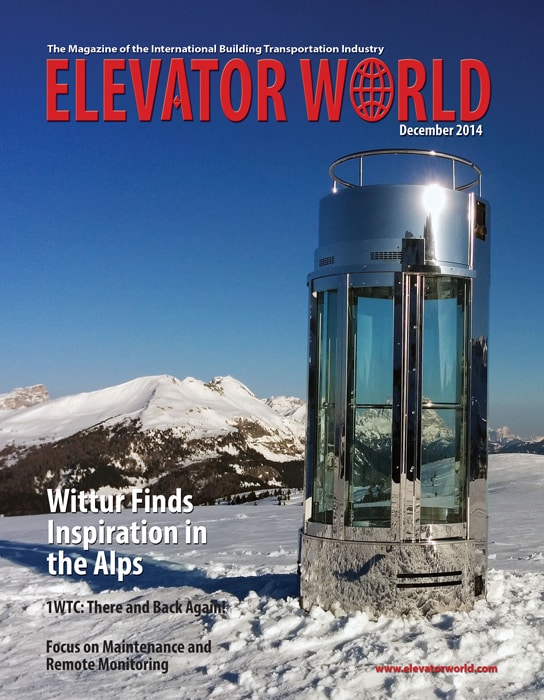 Elevator World | December 2014 Cover