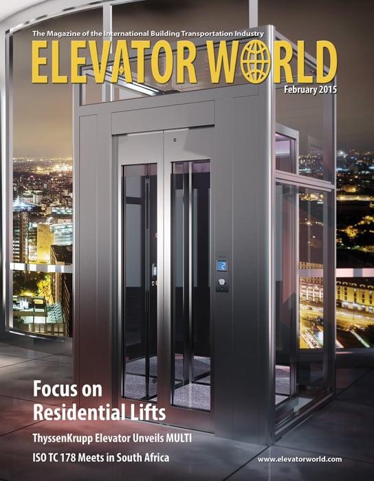 Elevator World | February 2015 Cover