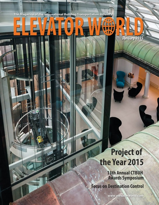Elevator World | January 2015 Cover